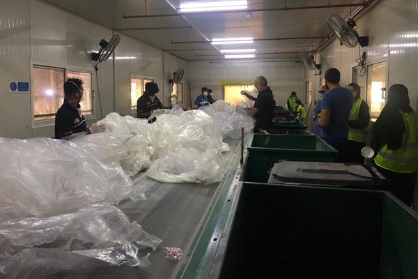 Napco National Recycling Facility Opens its Doors to Hejaz Ploggers