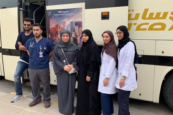 Sanita and the Saudi Alzheimer Disease Association Together in Ramadan