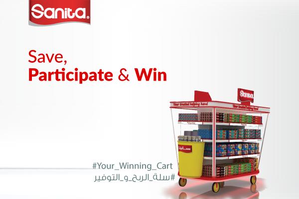 Sanita Launches #Your_Winning_Cart Campaign Across KSA