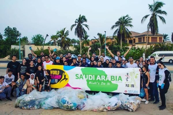 Napco National & Hejaz Ploggers Launch First World Cleanup Day Initiative in Saudi Arabia